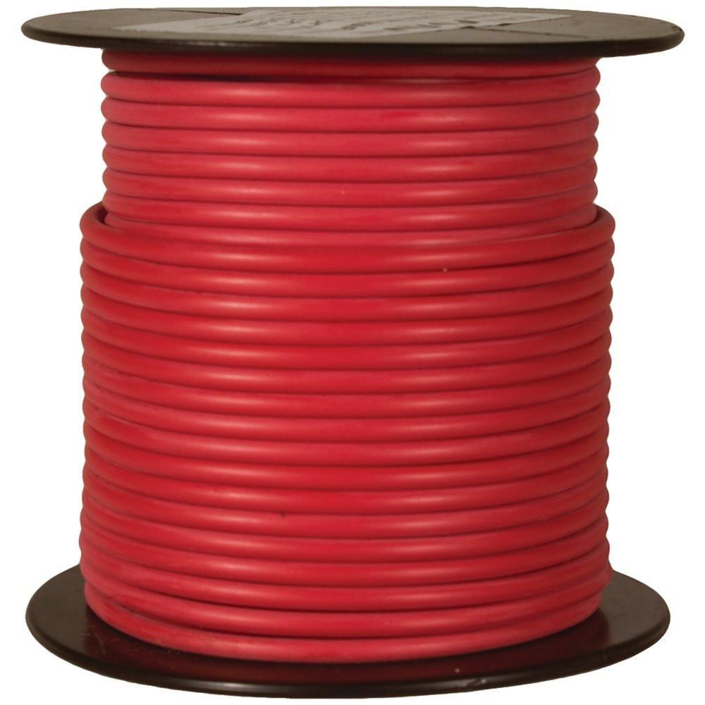 Battery Doctor Gxl Crosslink Wire 100ft Spool 14 Gauge Red Home Wiring