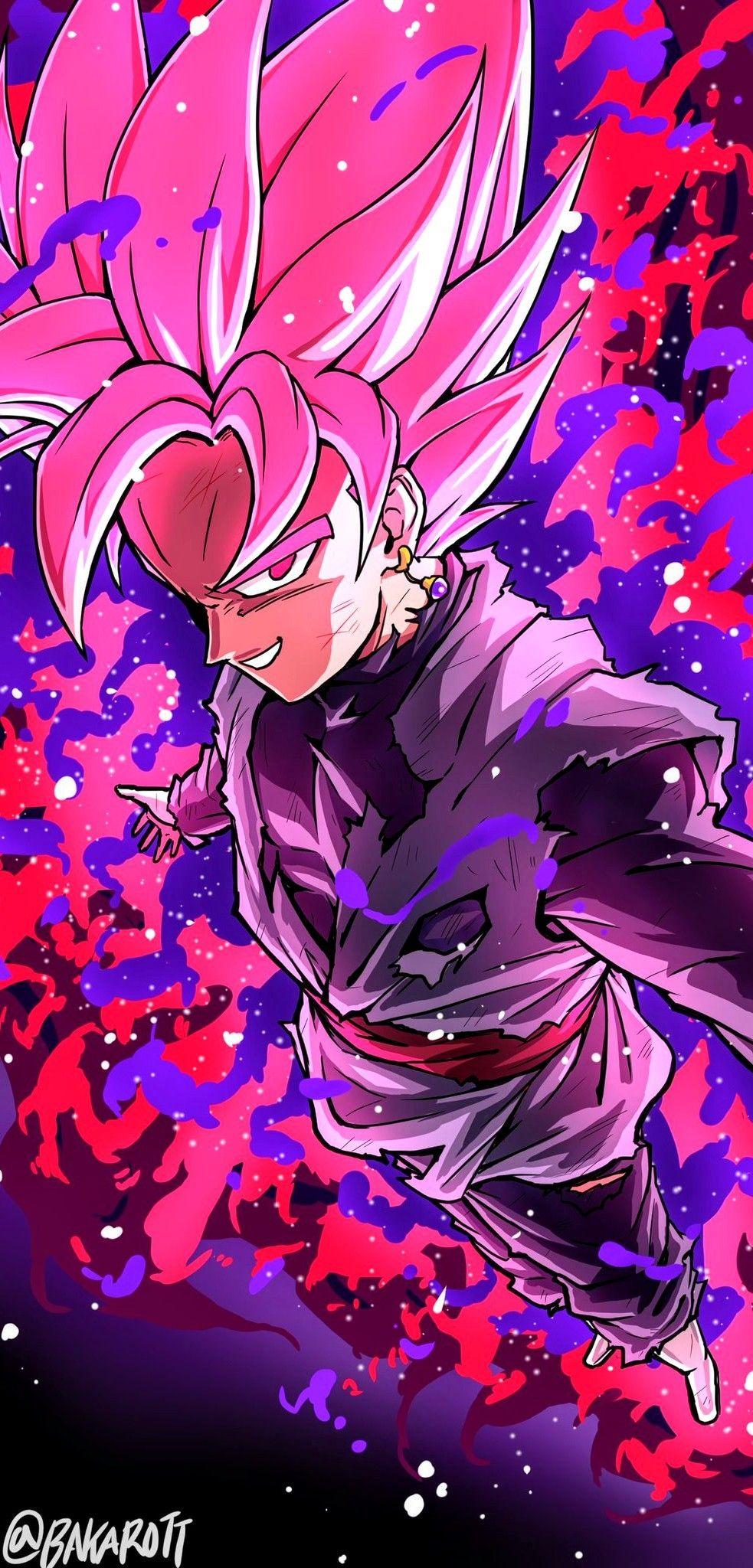 Goku Black By Bakarott Dragon Ball Super Artwork Anime Dragon Ball Super Dragon Ball Wallpapers