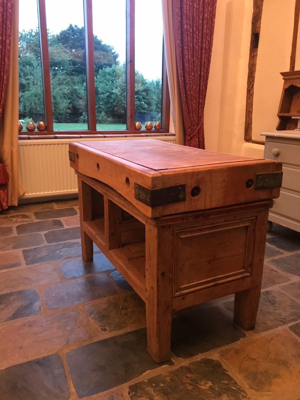 Stunning original antique butcherus block home furniture u diy
