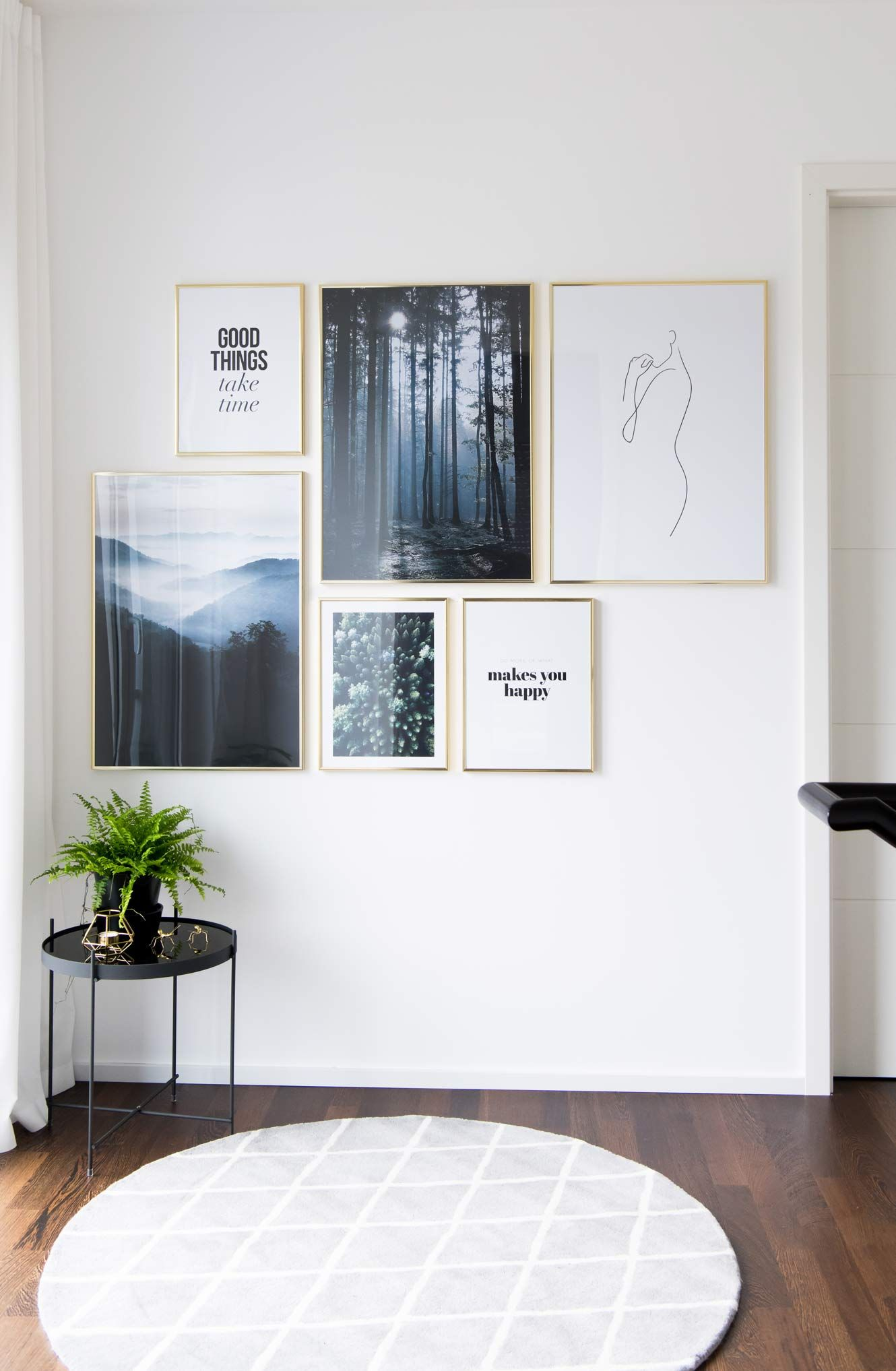 Neue Bilderwand im Flur – Soul follows design