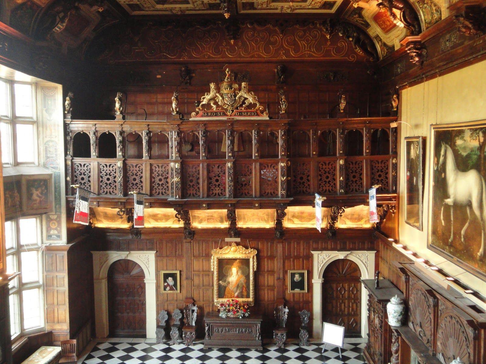 Jacobean Interior Hatfield House Beautiful Places