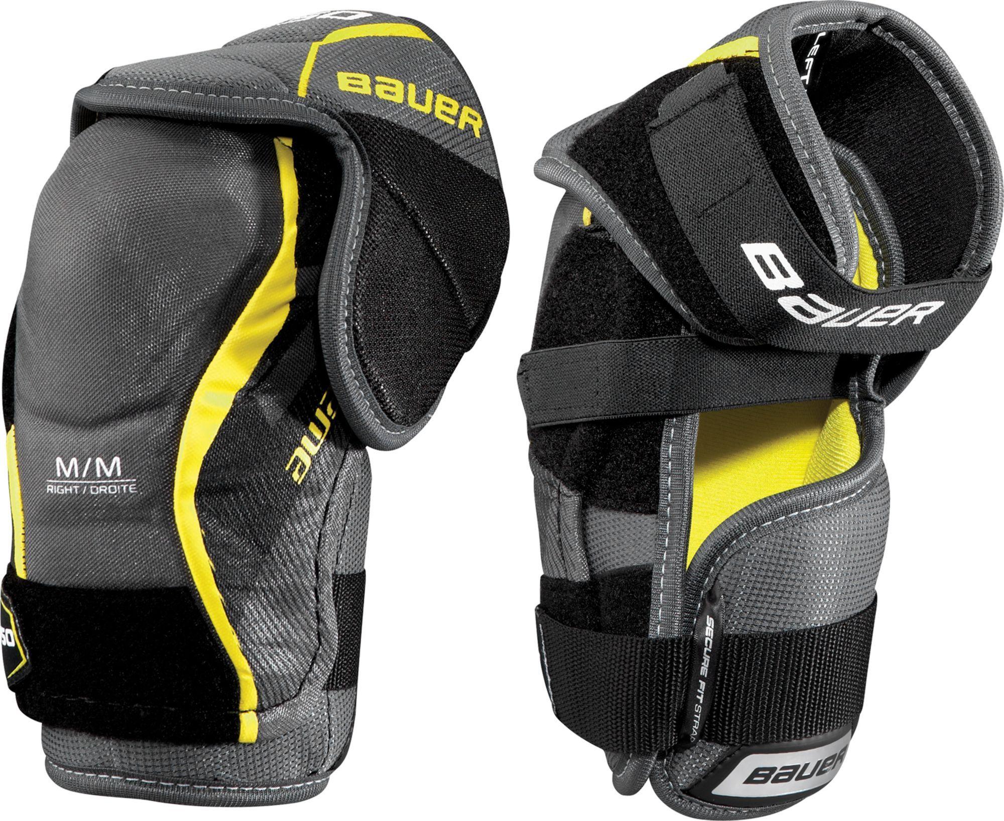 Bauer Junior Supreme S150 Ice Hockey Elbow Pads Ice Hockey Hockey Sports Equipment