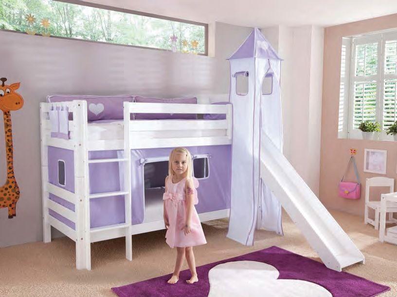 Litera infantil para que sus sue os sean de princesa - Literas para ninas ...