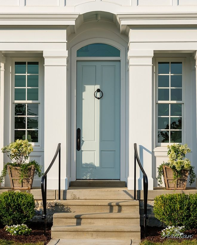 Sherwin Williams Sea Salt Front Door Paint Color Best Front Door