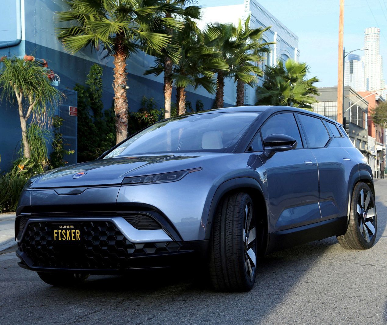 Electric Fisker Ocean SUV debuts at CES 2020, has full
