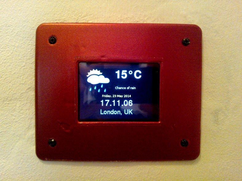 Homegenie diy ideas mirage home automation touch panel