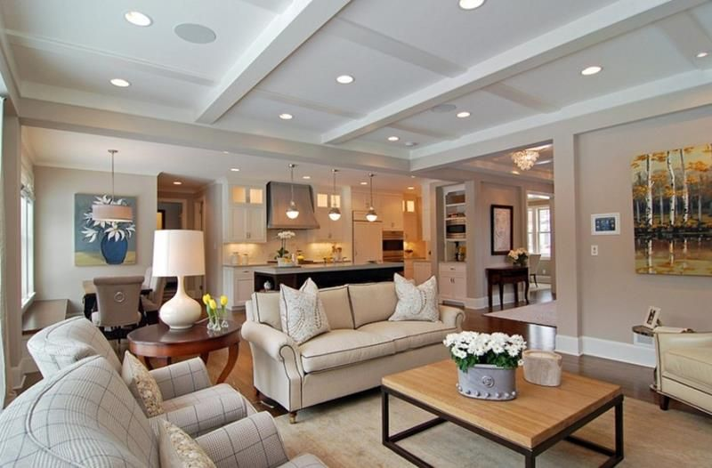24 Large Open Concept Living Room Designs Open Concept Living Room Open Living Room Design Livingroom Layout