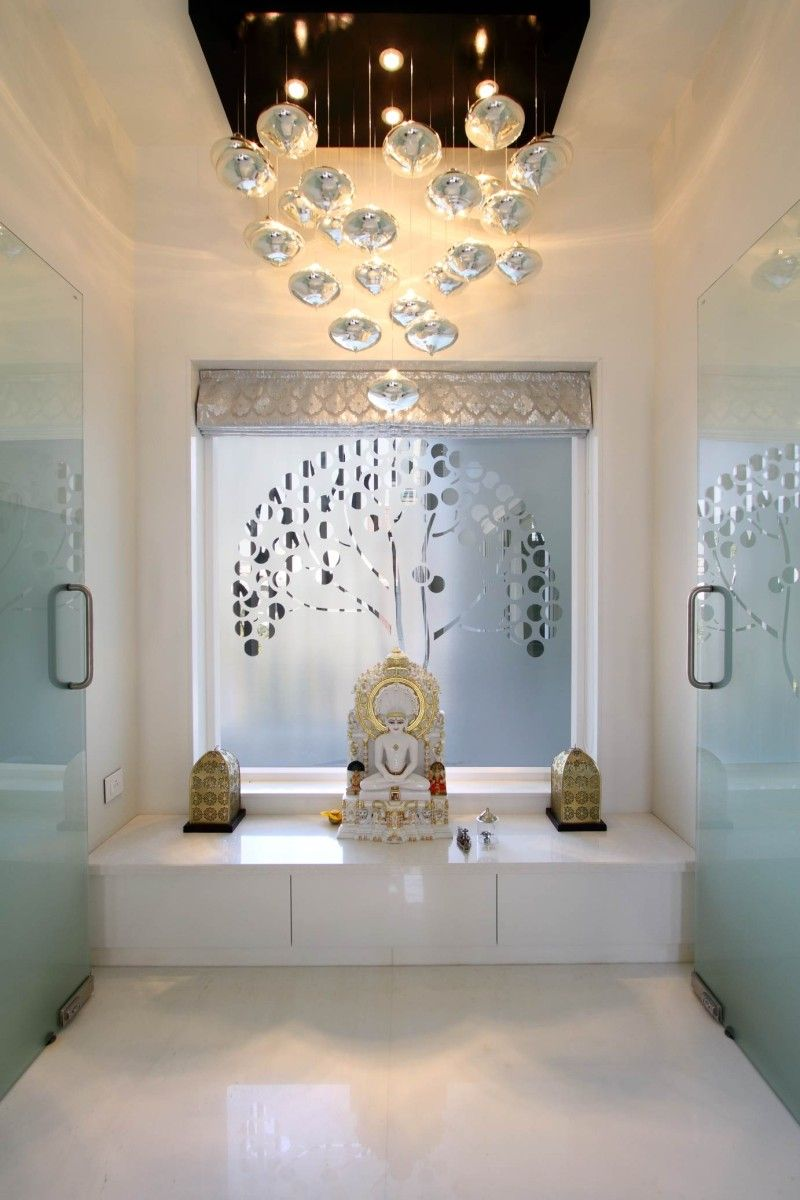 Prayer room ideas pictures remodel and decor - Pooja Room Like This But Not The Same Deity