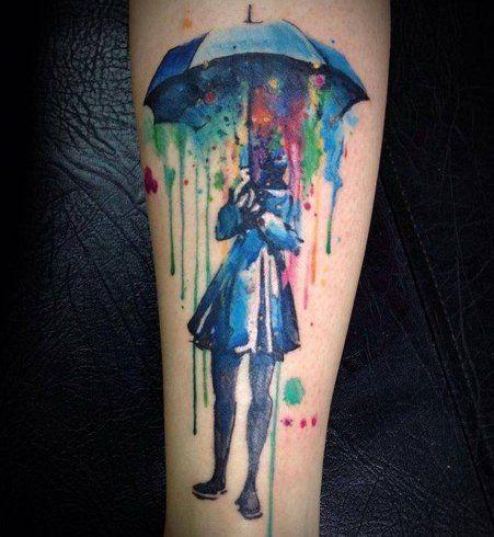 Le Tatouage Aquarelle Ou Comment Se Faire Tatouer Une Oeuvre D Art