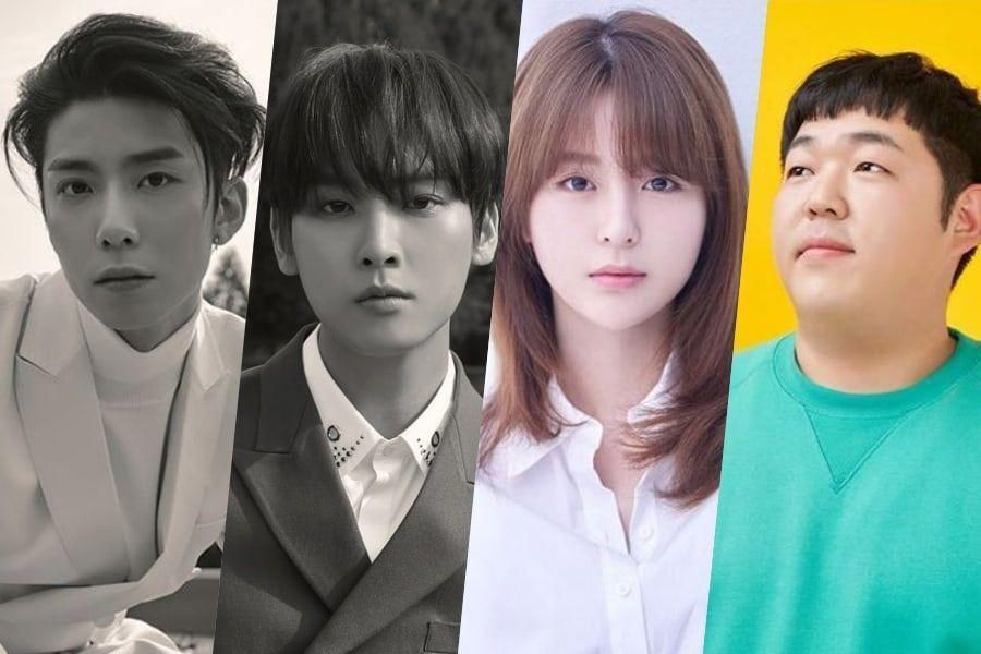 SF9's Hwiyoung And Inseong, Kim Nu Ri, And Moon Sang Hoon Confirmed For New Web Drama