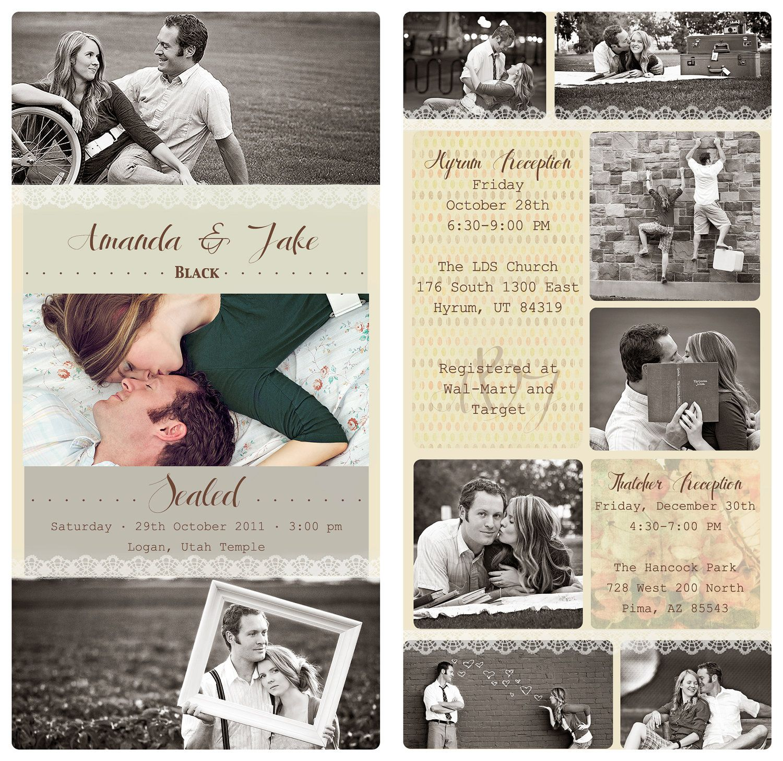 Vintage Photo Collage Design CUSTOM by flowerbucketboutique ...