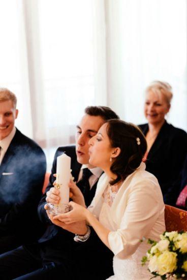 Hochzeit vor den Toren Münchens -Christina & Christian