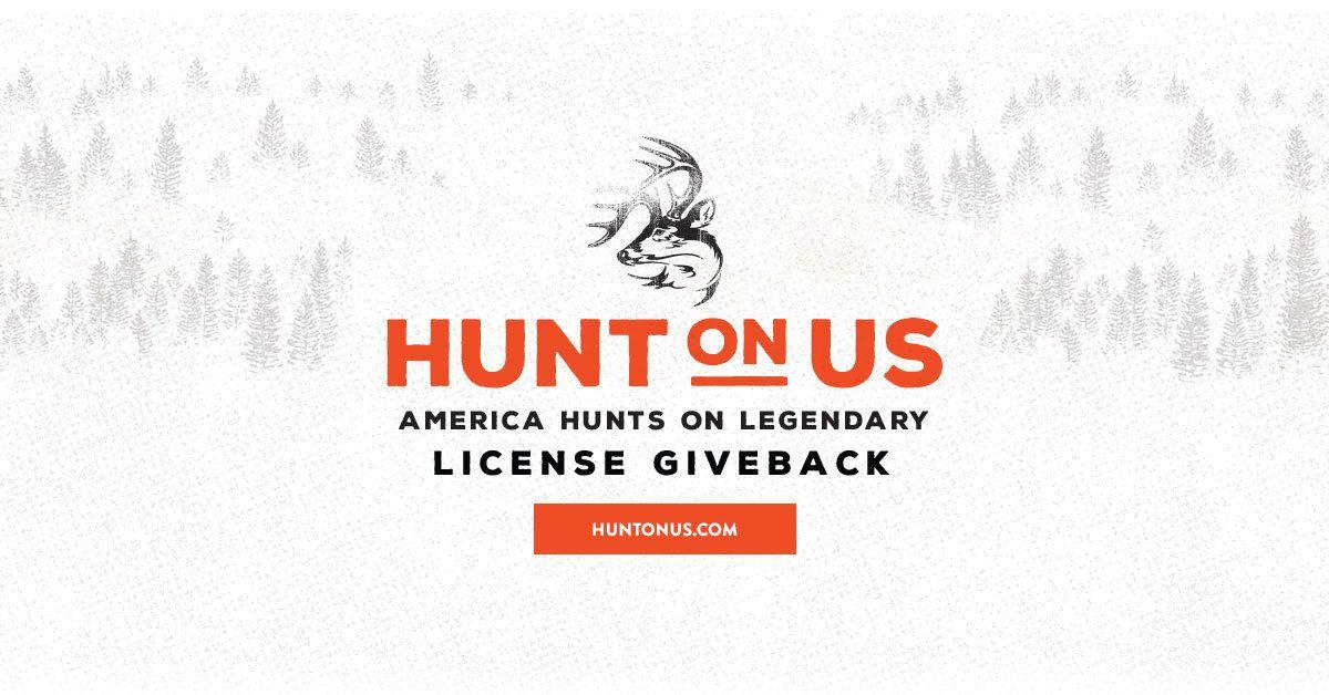 Hunt on us america hunts on legendary 25 license