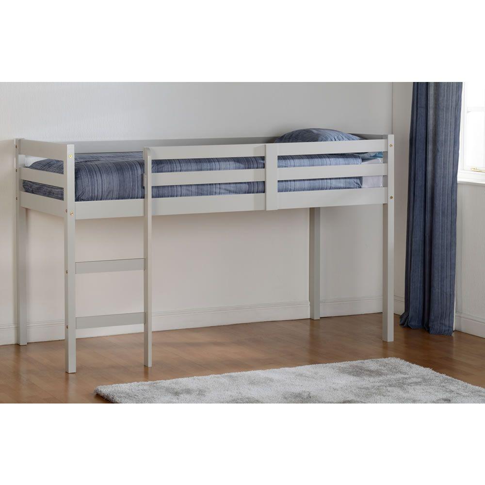 Best Panama Grey Mid Sleeper Single Bed Bed Mid Sleeper Bed 400 x 300