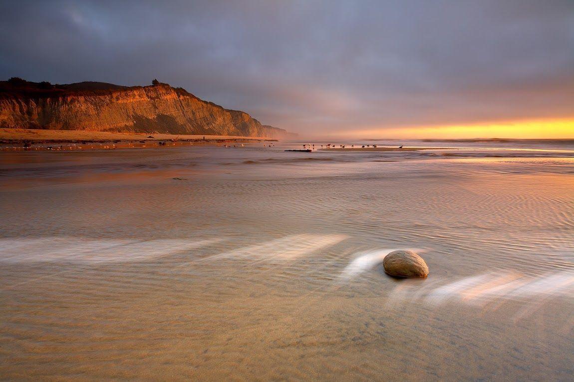 San Gregorio Beach Mateo County California By Patrick Smith