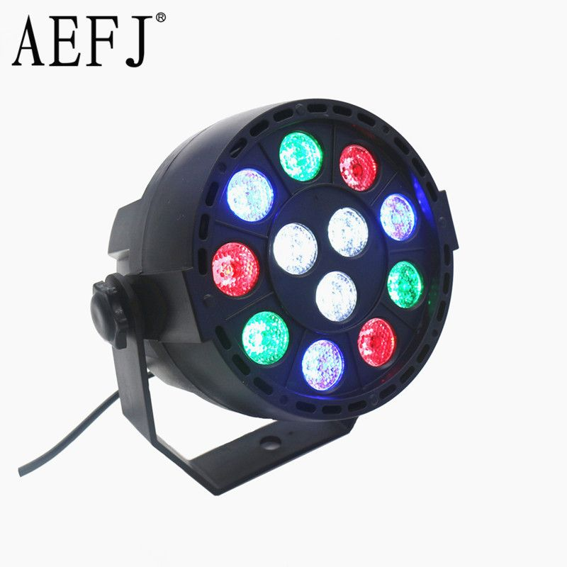 12 3 W Rgbw Rgb Led Stage De Lumiere 36 W 110 V 220 V Par La Lumiere Avec Dmx512 Maitre Esclave Plat Equipements Dj Controleur Pour Disco Party With Images Led