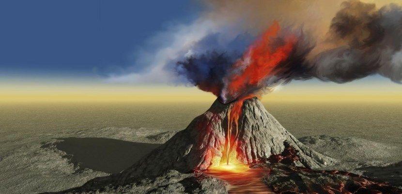 La actividad volcánica amplificada por la erosión provocada por el deshielo