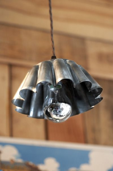 Upcycling old moulds lamparas recicladas Pinterest Ideas