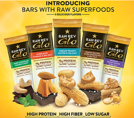 $22.00 retail value  |  Enjoy a box of delicious, vegan protein bars from @rawrevolution.   This box contains 12 Peanut Butter and Sea Salt protein bars. These protein bars are not only delicious, but they are good for you!