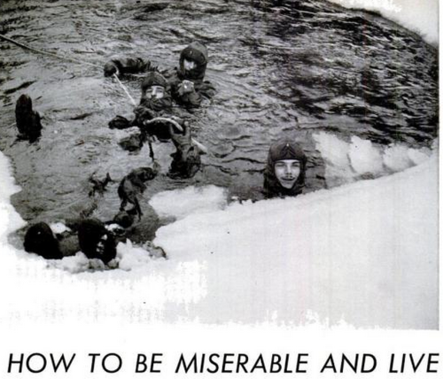 How to be miserable and live