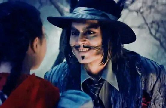 Johnny Depp as The Wolf: Into The Woods