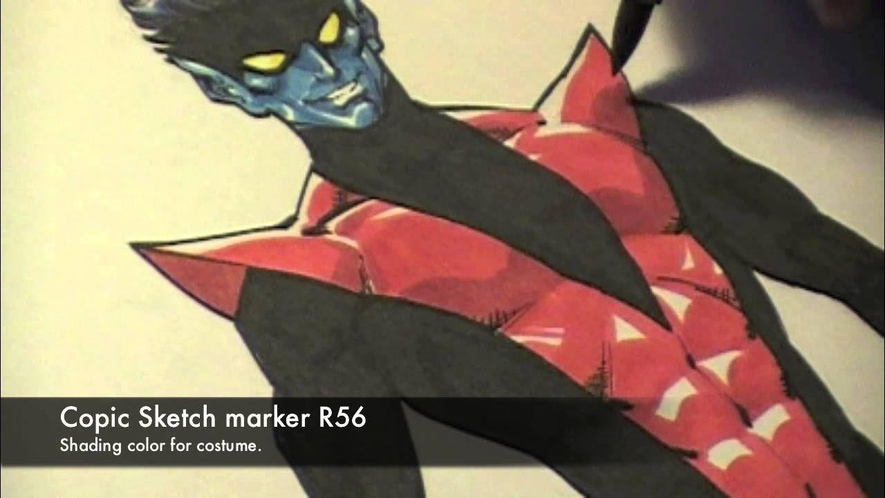 Todd Nauck Draws Nightcrawler Part 3 of 3 (With images