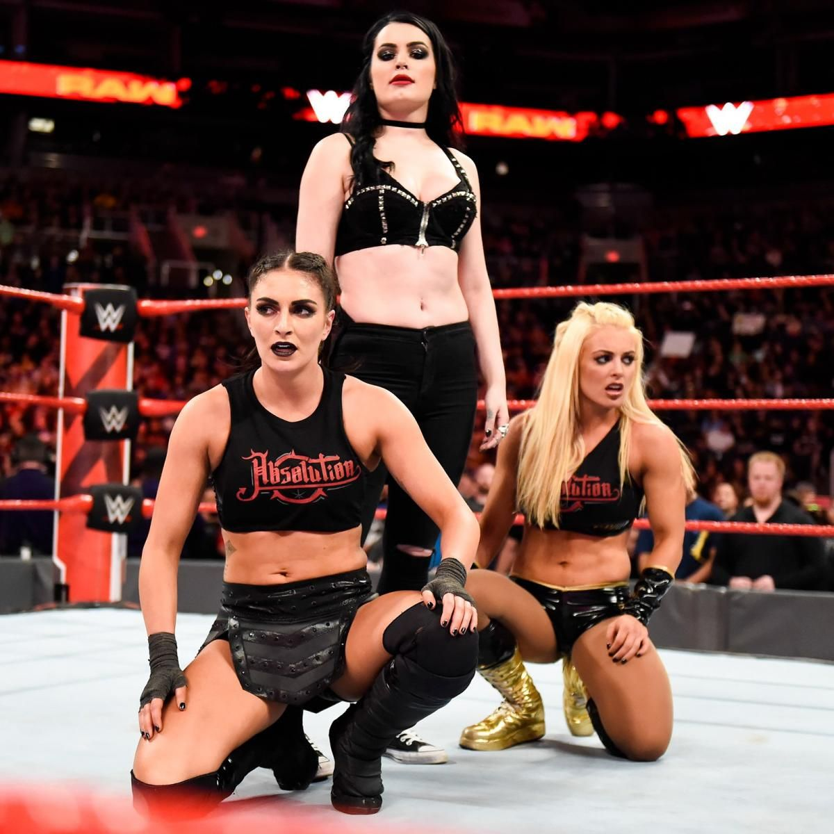 Photos Team Red Ladies Duke It Out In Preview Of First Ever Women S Elimination Chamber Match Wwe Girls Wwe Womens Wrestling Divas