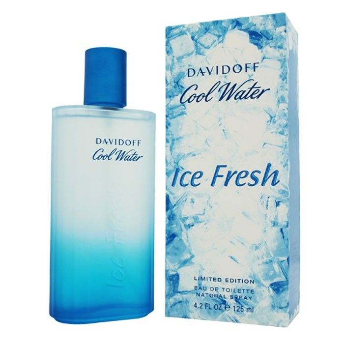 Cool Water Ice Fresh Men 125ml Edt парфюмерия Davidoff Davidoff