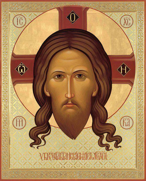 Käsittätehty Kristuksen ikoni