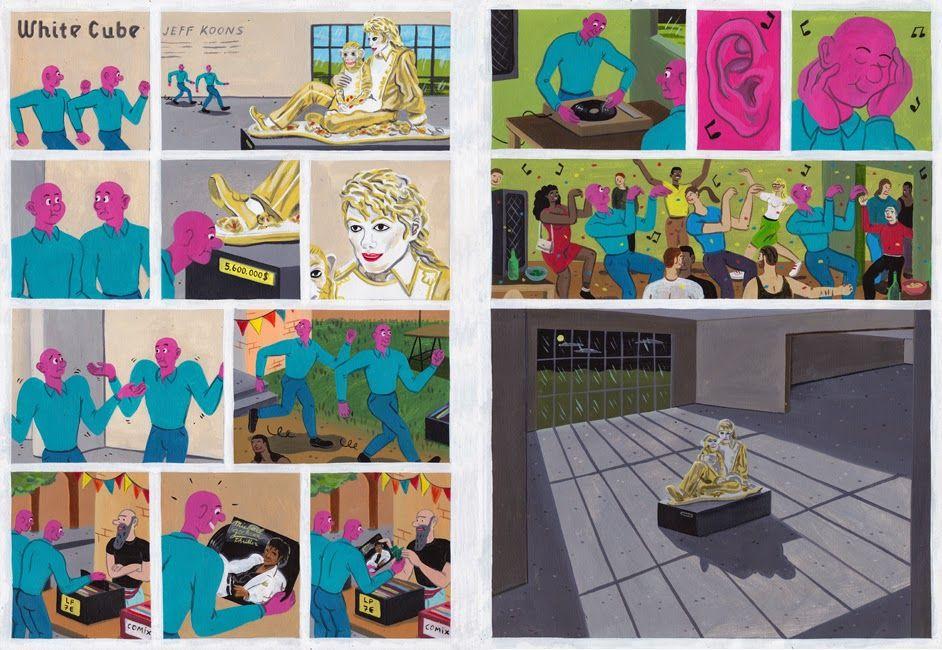 Brecht Vandenbroucke Michael Jackson - What is art?/ Jeff Koons, White Cube 2014, Netherlands