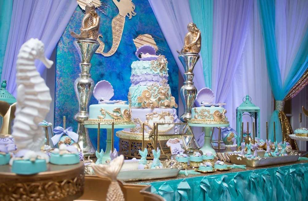 Under the sea Baby Shower Party Ideas (With images) Sea