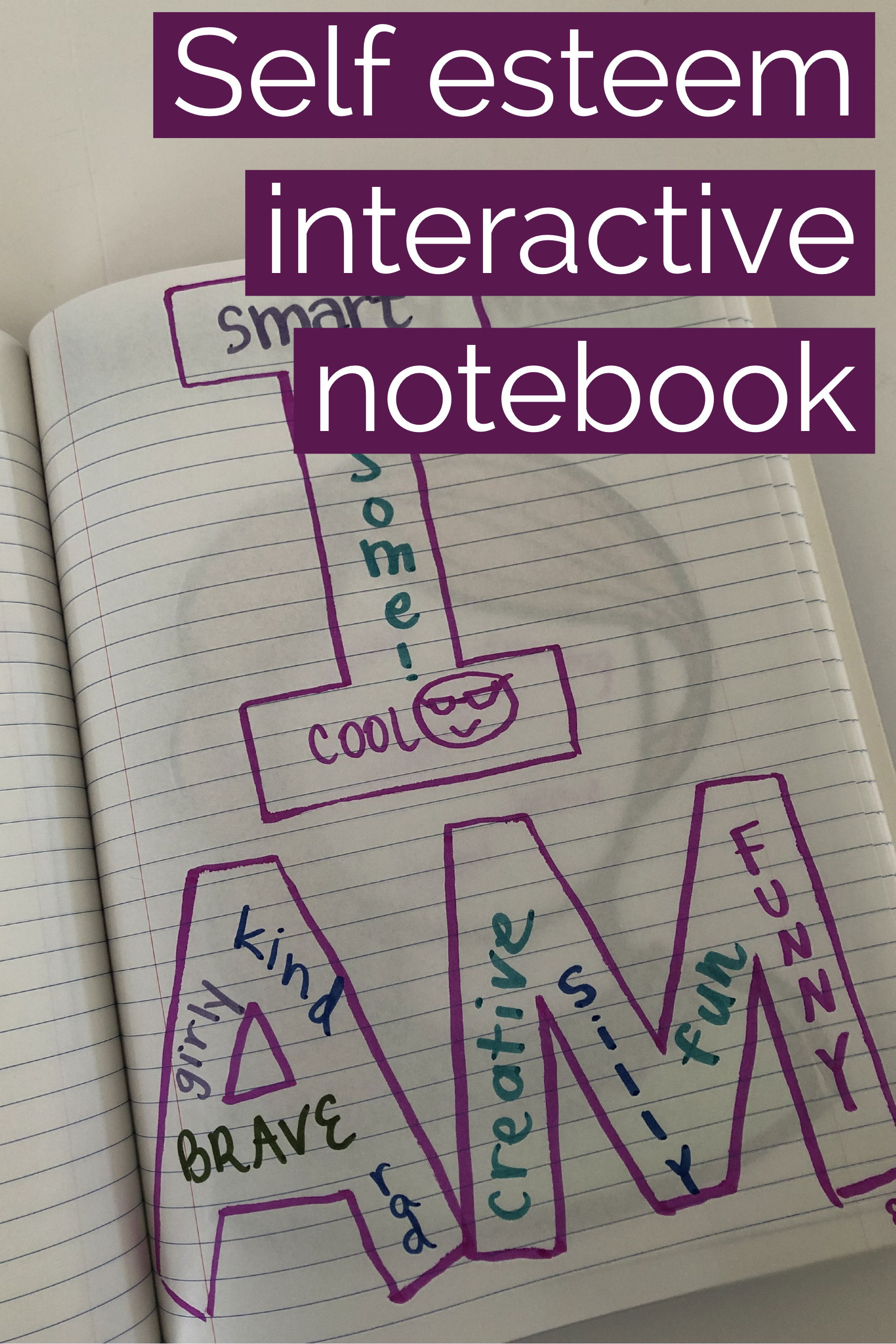 School Counseling Social Emotional Interactive Notebook