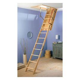 Escalier escamotable int rieur pinterest escalier - Echelle escamotable castorama ...