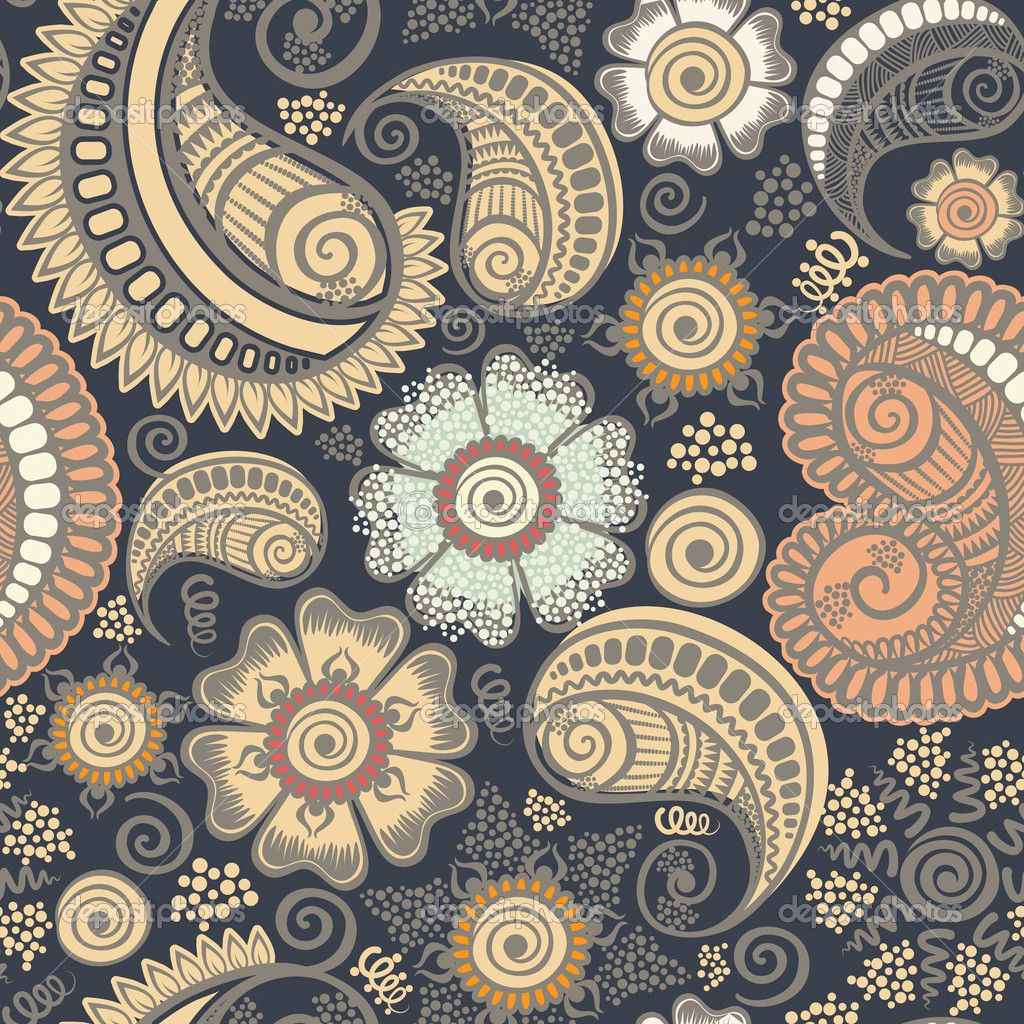 Paisley designs paisley designs wallpaper paisley for Paisley wallpaper