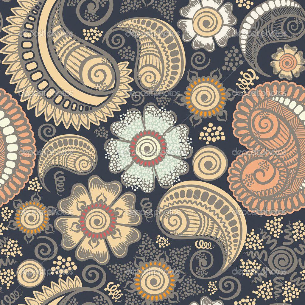 Paisley designs paisley designs wallpaper paisley for Paisley wallpaper