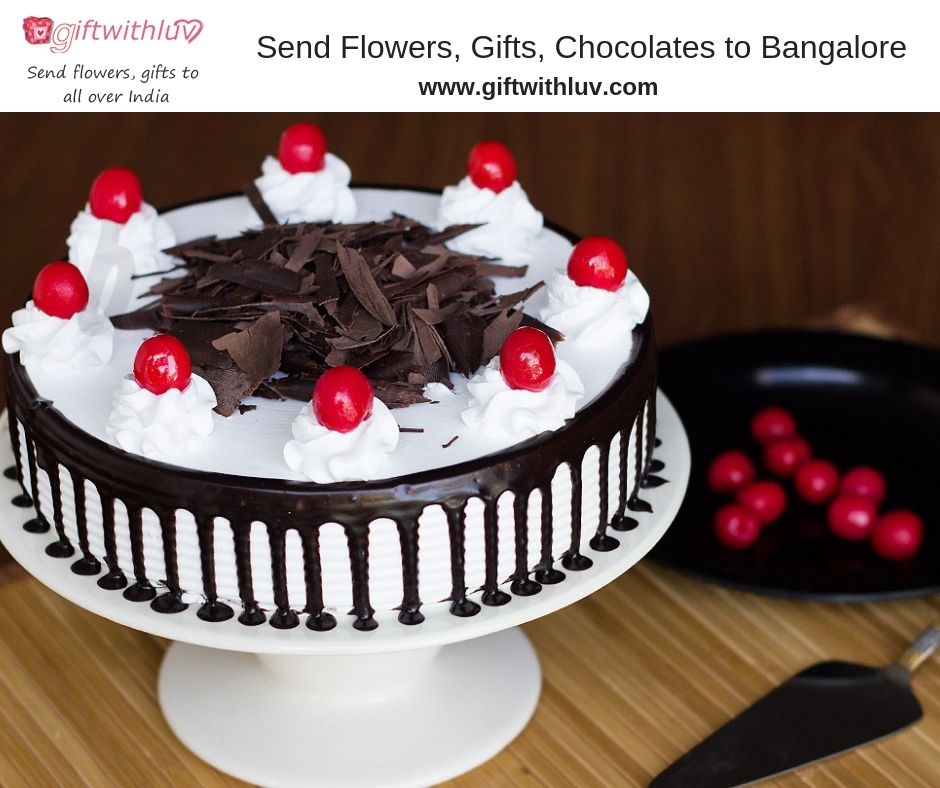 Send Flowers Gifts Cakes To Bangalore Share Your Happiness With Your Loved One Visit Us Www Giftwithluv Com Online Cake Delivery Cake Cake Online