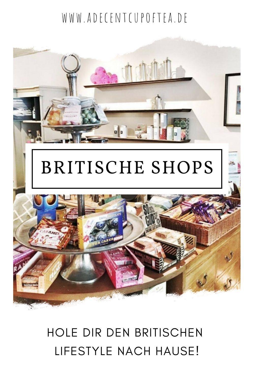Britische Shops in Deutschland: englische Lebensmittel & Produkte