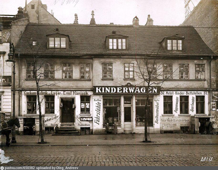 1913 Chausseestrasse 37 Korkenfabrik Ernst Hansisch Und Kinderwagen Geschaft Berlin Geschichte Berlin Und Historische Fotos