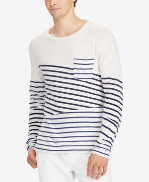 Men's Striped Custom Shirt Slim Sleeve Lauren Polo Ralph Fit T Long xdCBreo