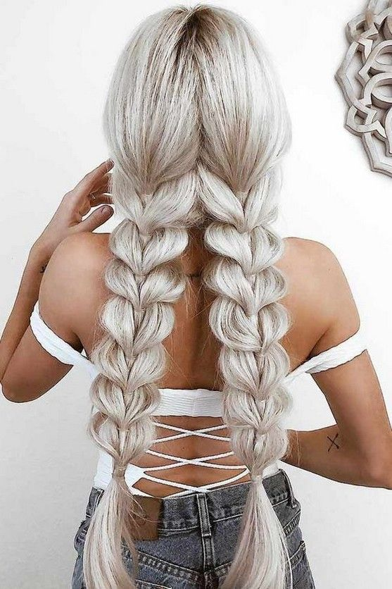 50+ Most Gorgeous Twisted Braided Blonde Hairstyles Idea For Summer Prom - Page 15 of 58