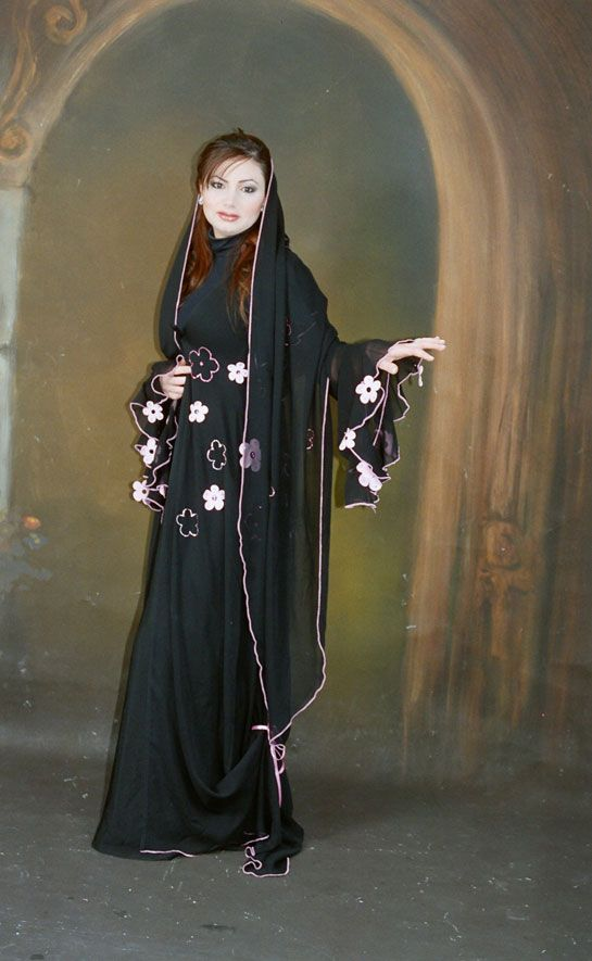 صور عبايات سعودية 2014 صور عبايات سودا مودرين 2014 Abaya Fashion Spring Fashion Trends New Fashion Trends
