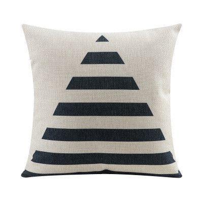 Nordic Abstract Geometric Home Decor Pillow Cushion Linen Throw