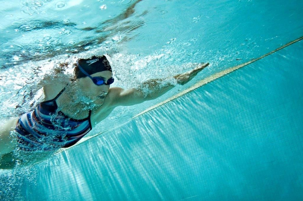 Sports and Lifestyle Photographer Ian Coble, Water Fitness Underwater Shot