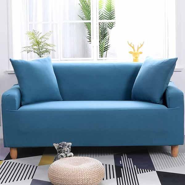 Solid sofa cover | Déco maison pas cher, Déco maison ...