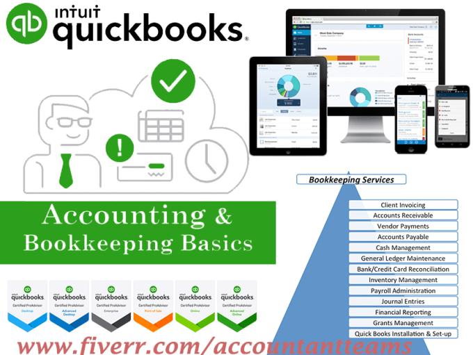 Accountantteams I Will Do Bookkeeping In Quickbooks Online And Xero Accounting For 10 On Fiverr Com Quickbooks Online Quickbooks Quick Books Accounting