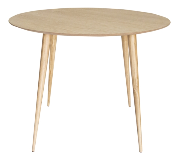 Table Ronde Temoe Placage Chene Table But In 2020 Table Home Decor Side Table