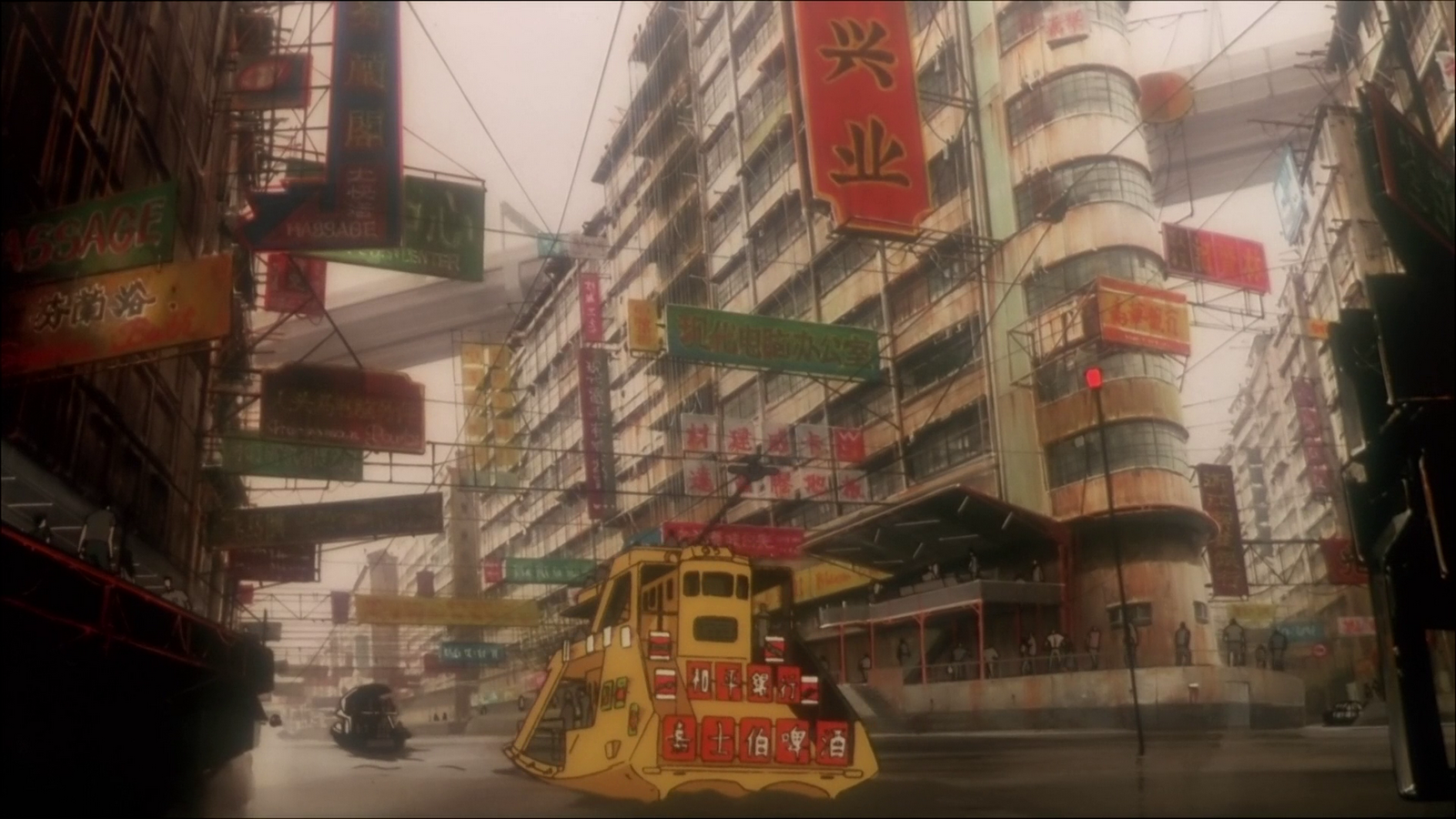 Ghost In The Shell City Ghost In The Shell 1995 Animation