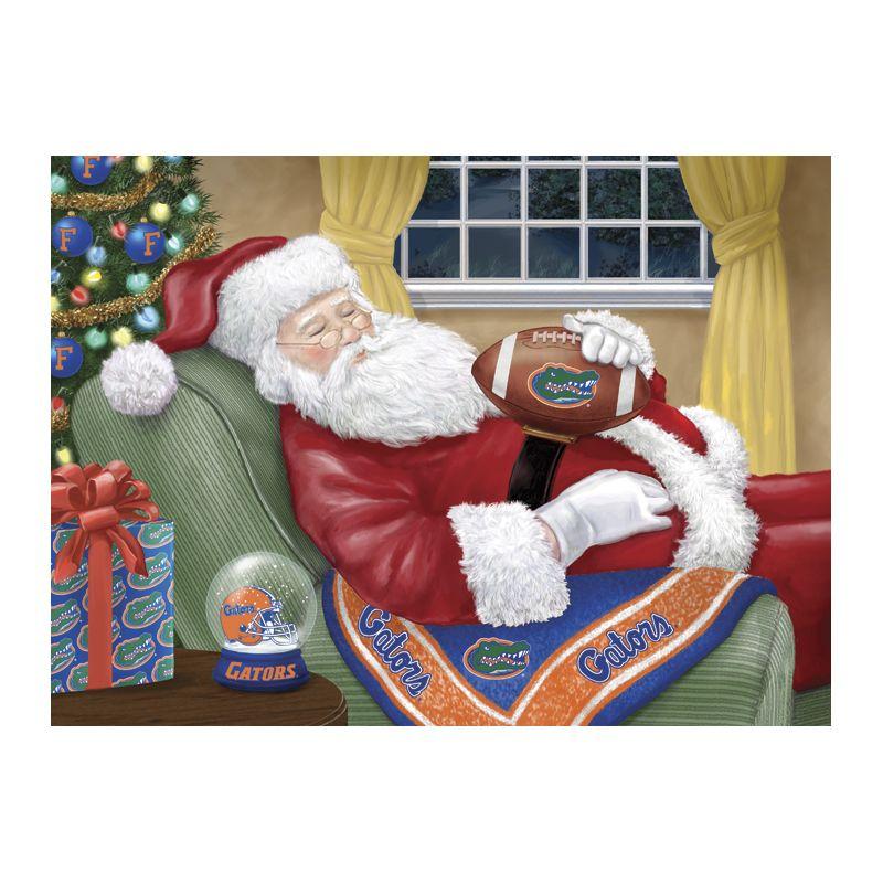 Florida Gators Christmas Cards Napping Santa Florida