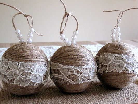 30 DIY Rustic Christmas Ornaments christmas Pinterest Rustic