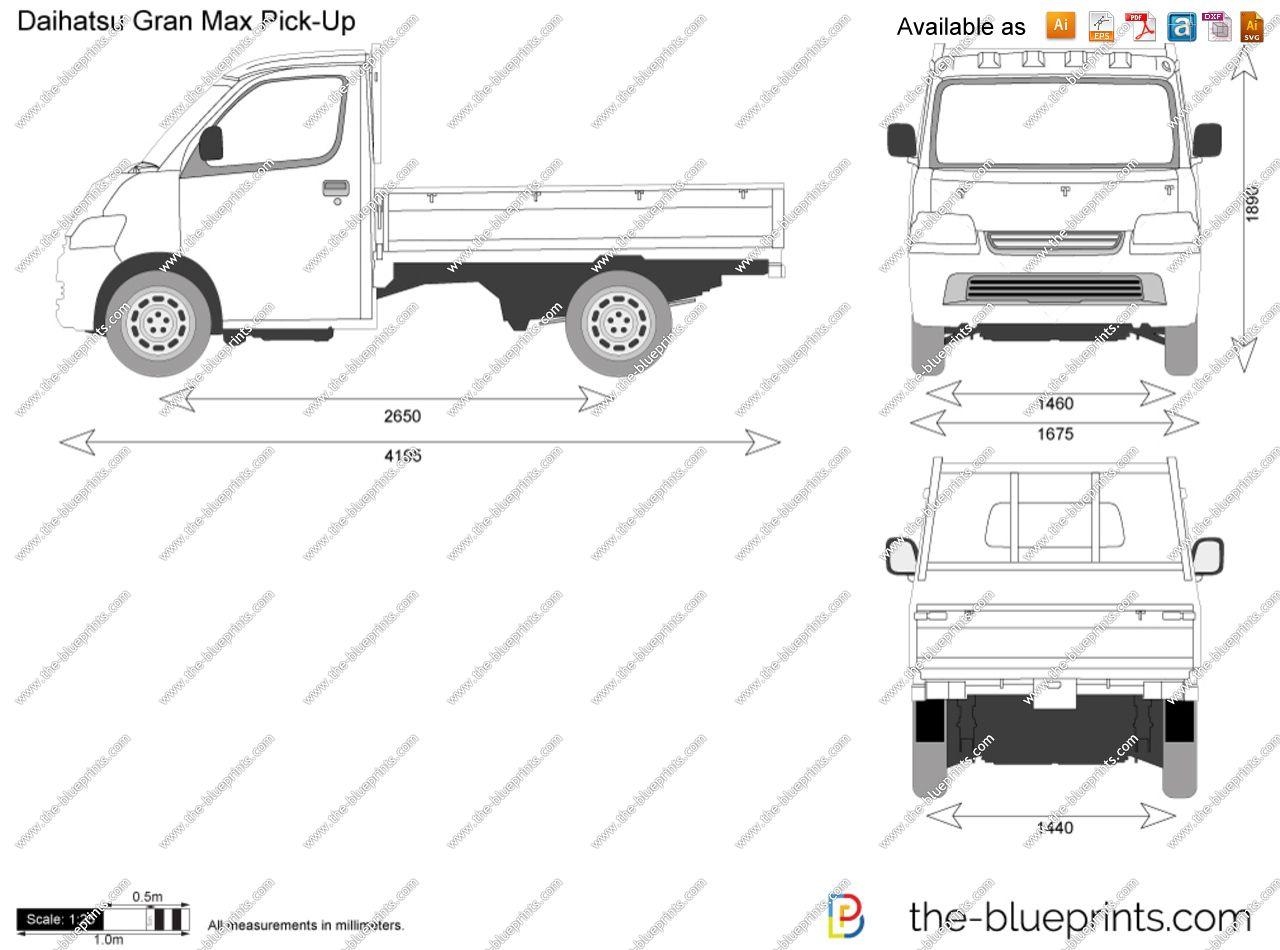 Daihatsu Gran Max Pick Up Dengan Gambar Kendaraan Mobil